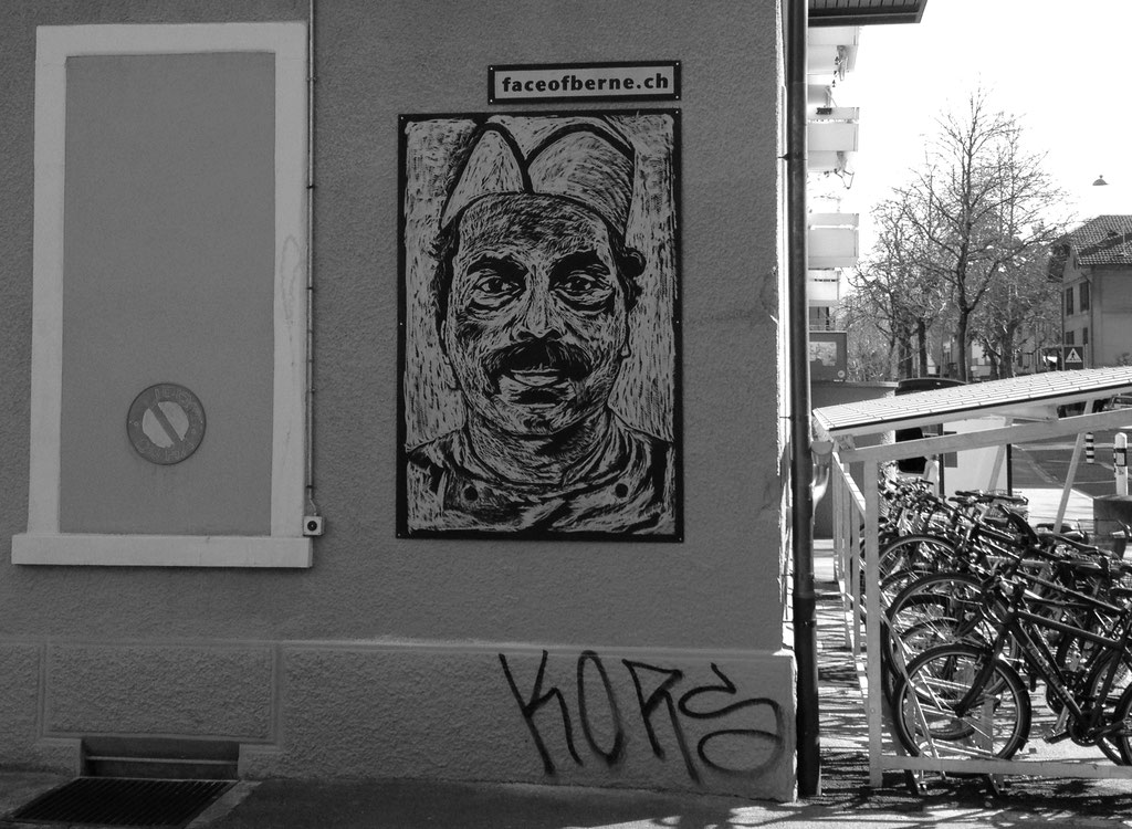 """Fassade """"Kompetenzzentrum Arbeit""""  Lorrainestrasse 52, Bern"""