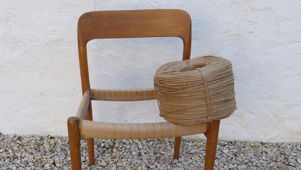 Rouleau de corde danoise / Danish cord roll