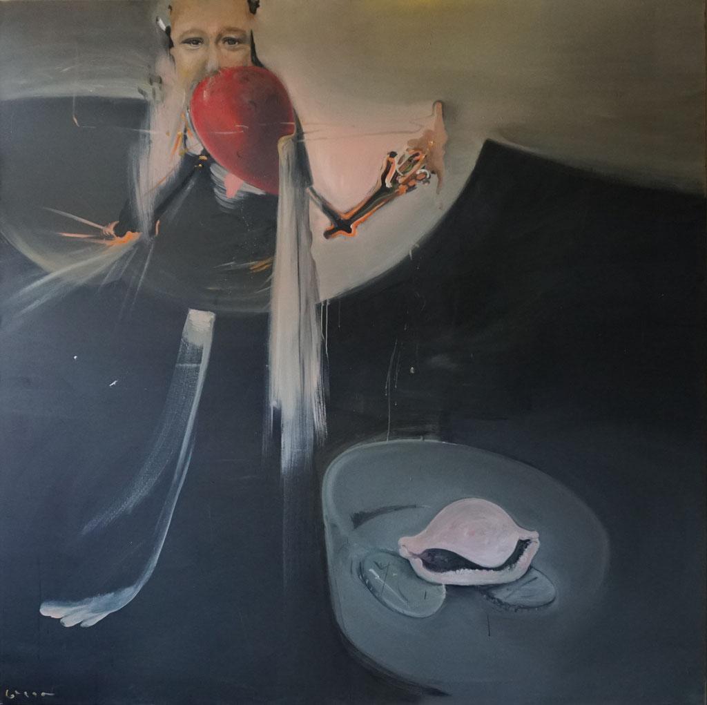 G011 - Öl auf Leinwand - 170 x 171 cm.