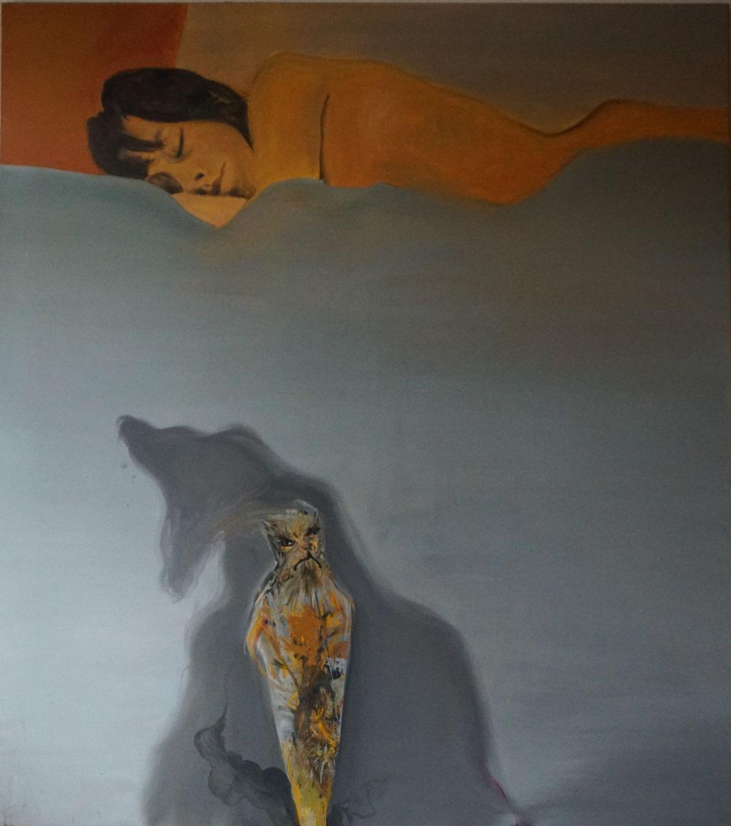 G040 - Öl auf Leinwand - 180 x 160 cm.
