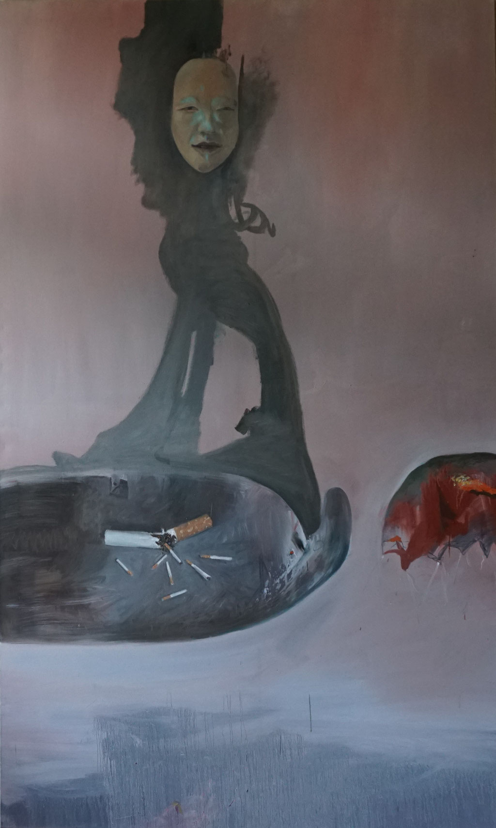 G013 - Öl auf Leinwand - 200 x 120 cm.