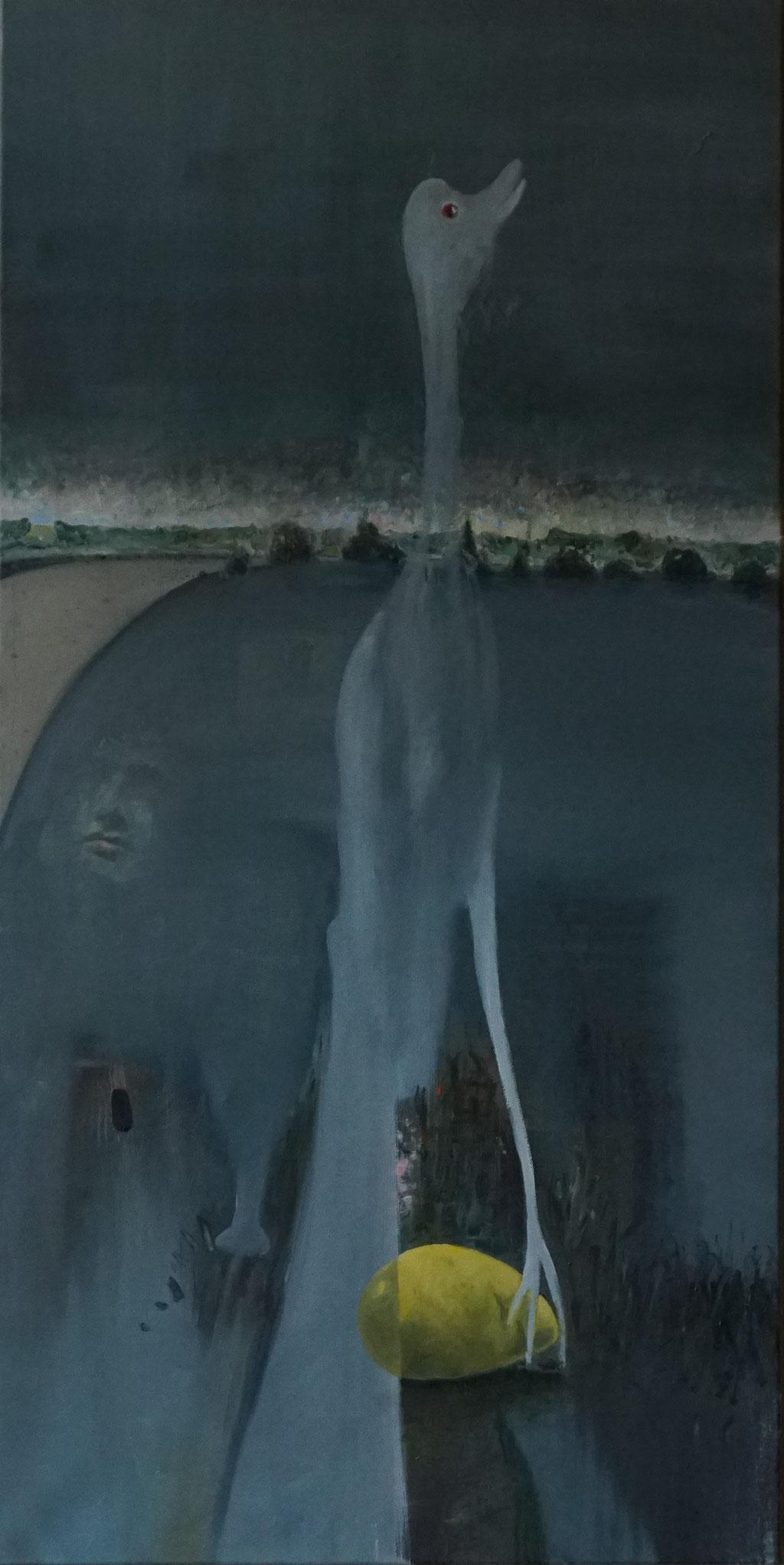 G031 - Öl auf Leinwand - 120 x 60 cm.