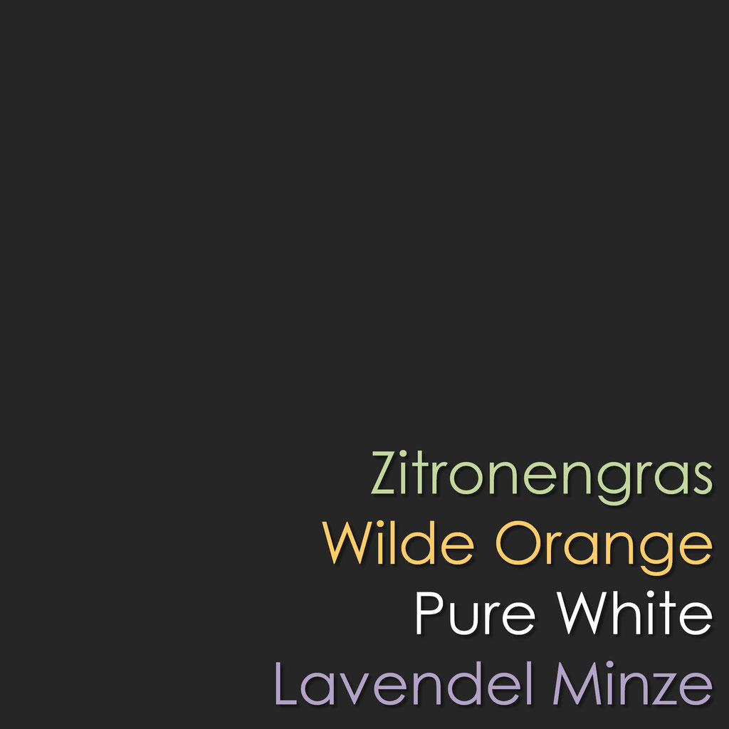 Zitronengra Orange Pure White Lavendel Minze ätherisches Öl Düfte