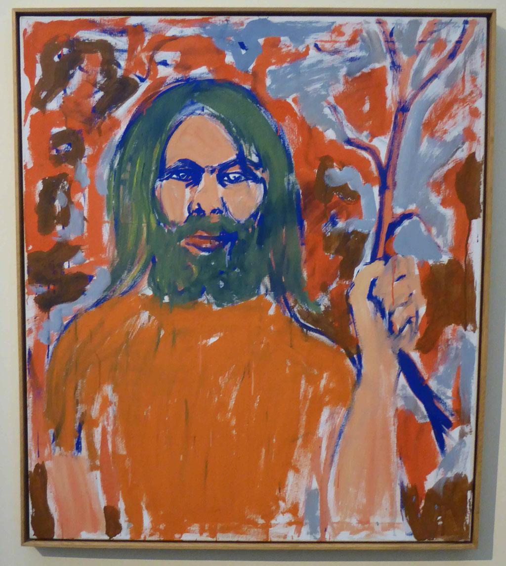 A.R. Penck, Selbstbildnis 1976, Museum Moritzburg, Halle