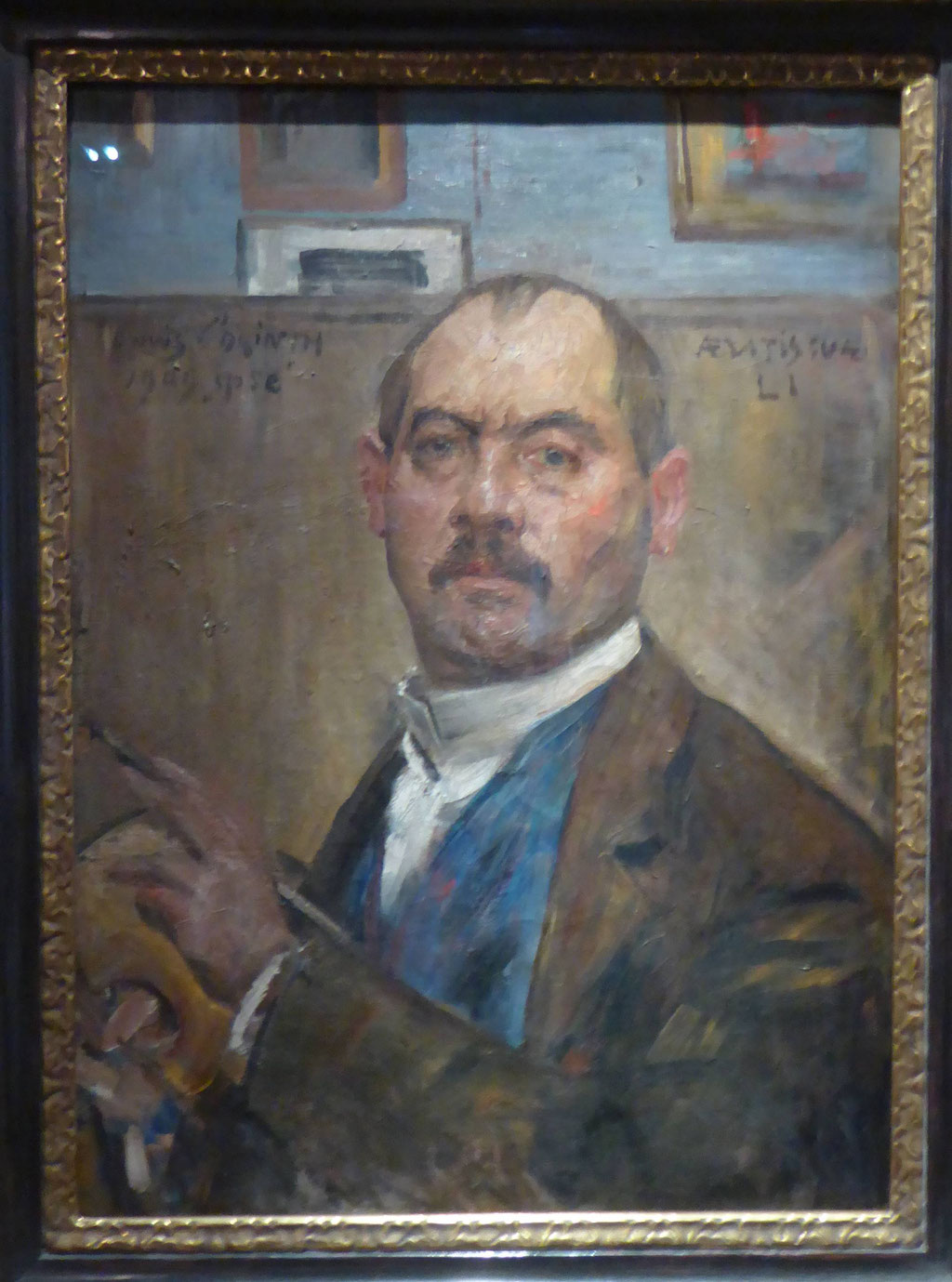 Lovis Corinth, Selbstbildnis, 1909, Museum Moritzburg, Halle