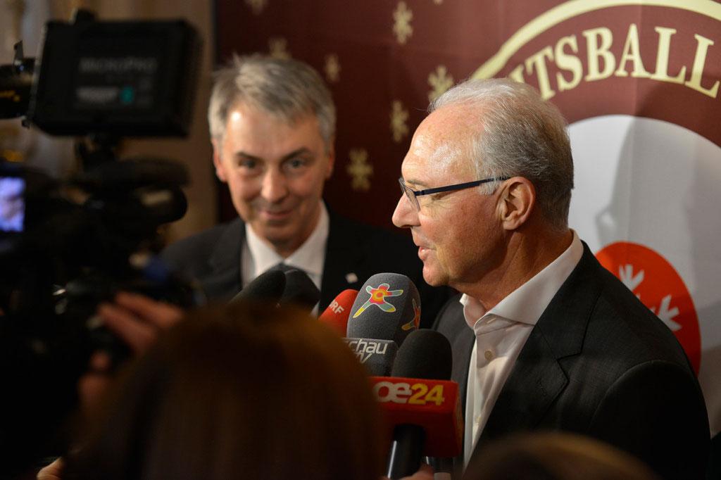 Franz Beckenbauer, 2013