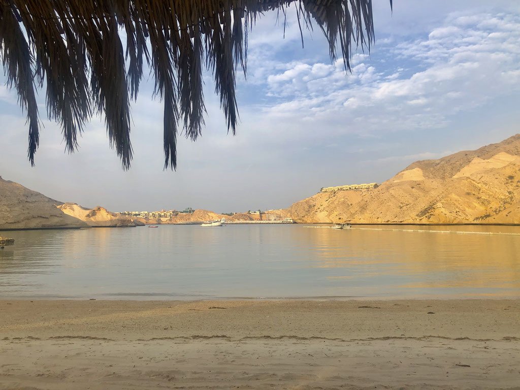 Beach View at Muscat Hills Resort