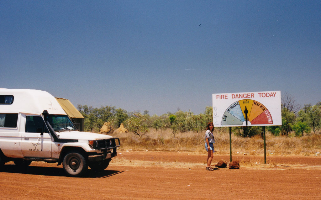 GREAT NORTHERN HWY. KURZ VOR BROOME