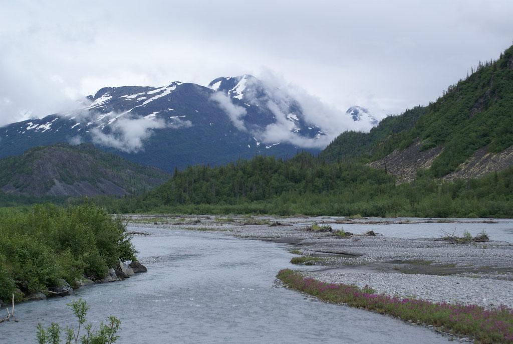 Worthington Glacier bei Valdez