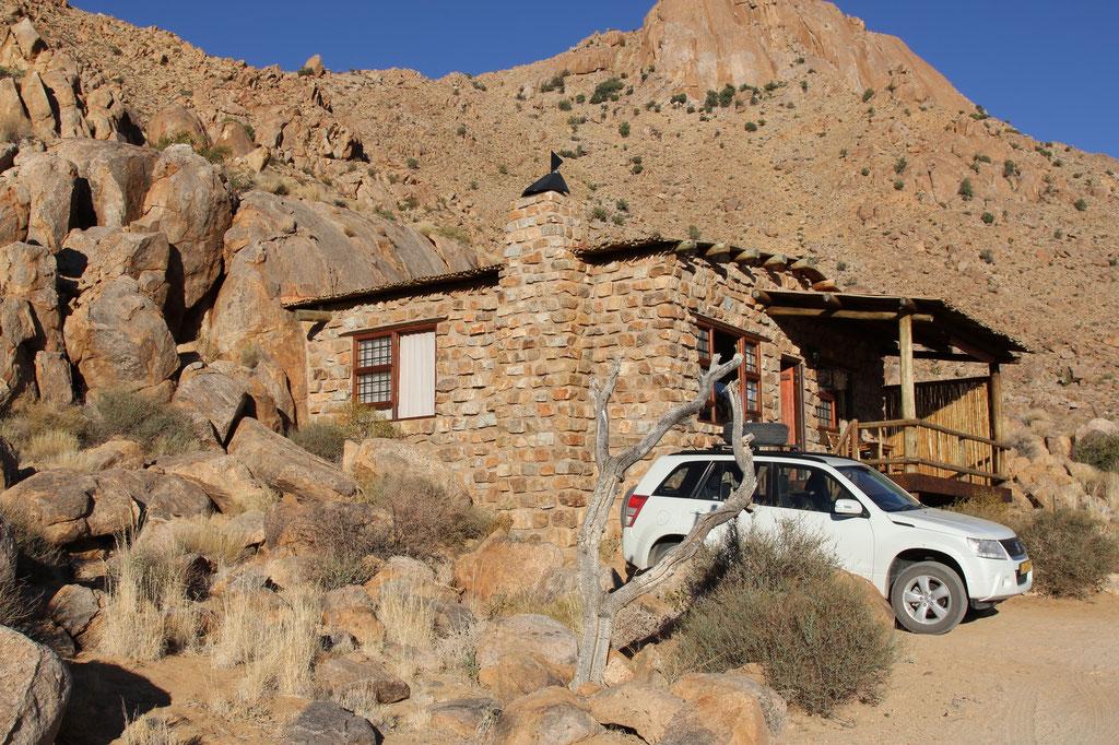 Das Chalet Desert Vista unserer Mitreisenden