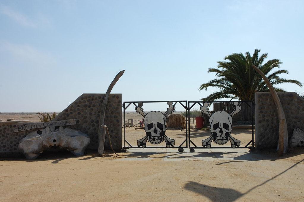 Eigang zum Skeleton Coast Nt. Park