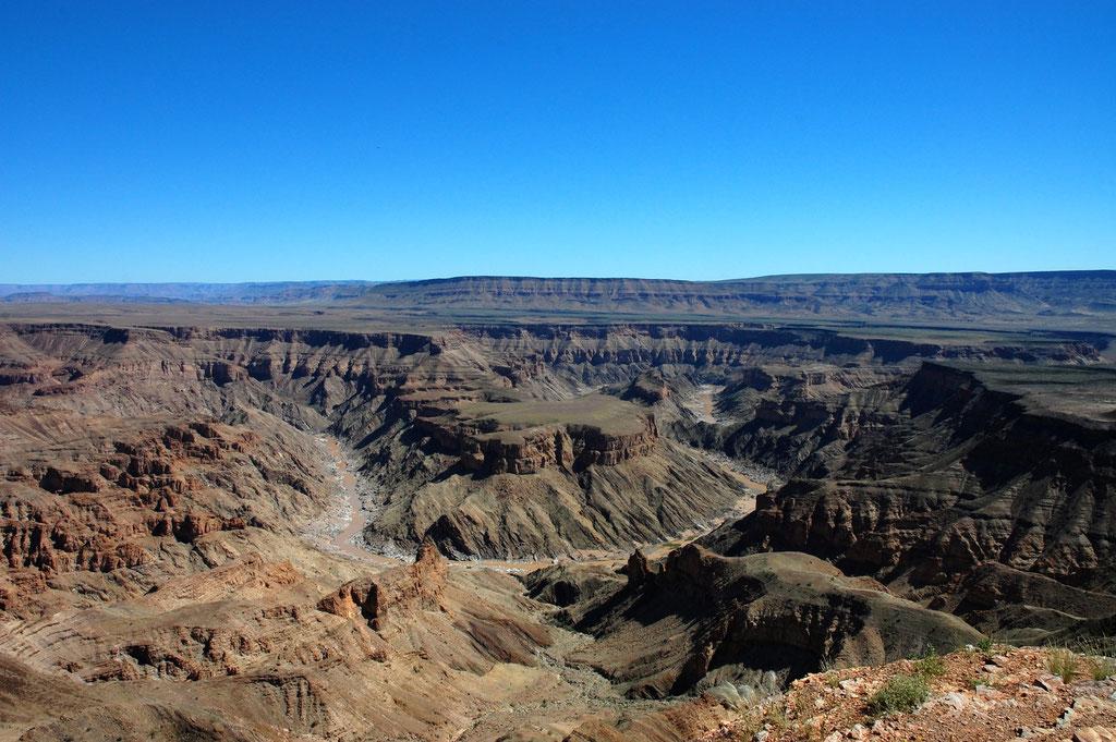 Am Abgrund des Canyon