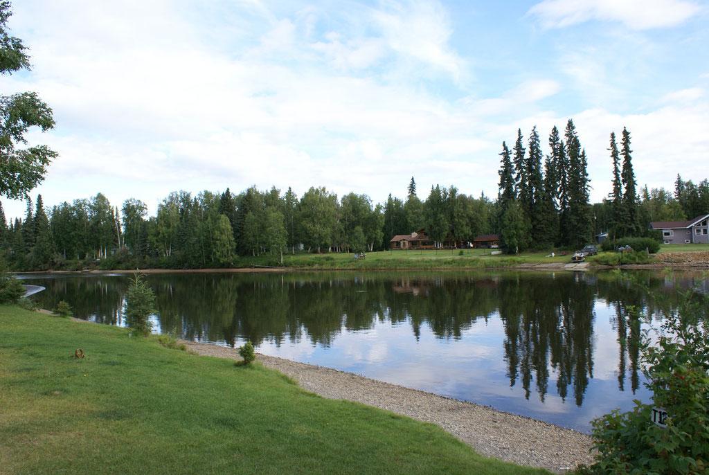 Campground bei Fairbanks