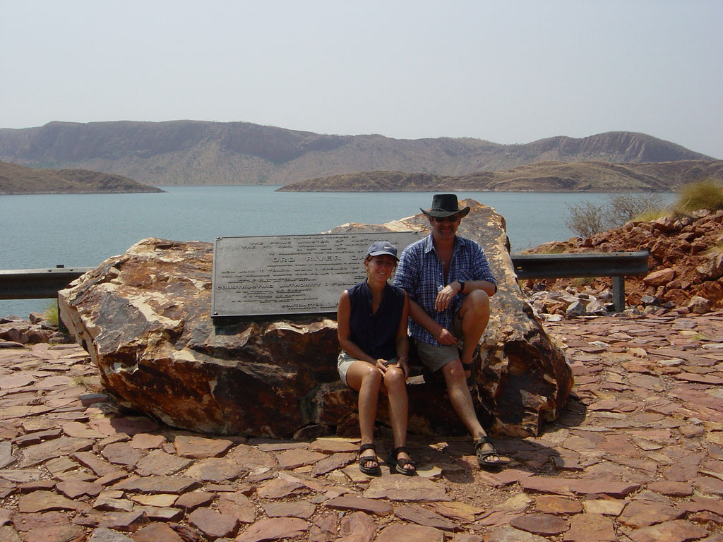 Staudamm Lake Argyle