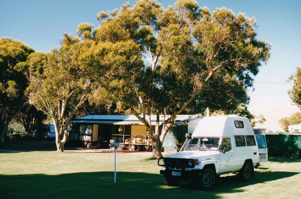 CARAVAN PARK IM SECOND VALLEY