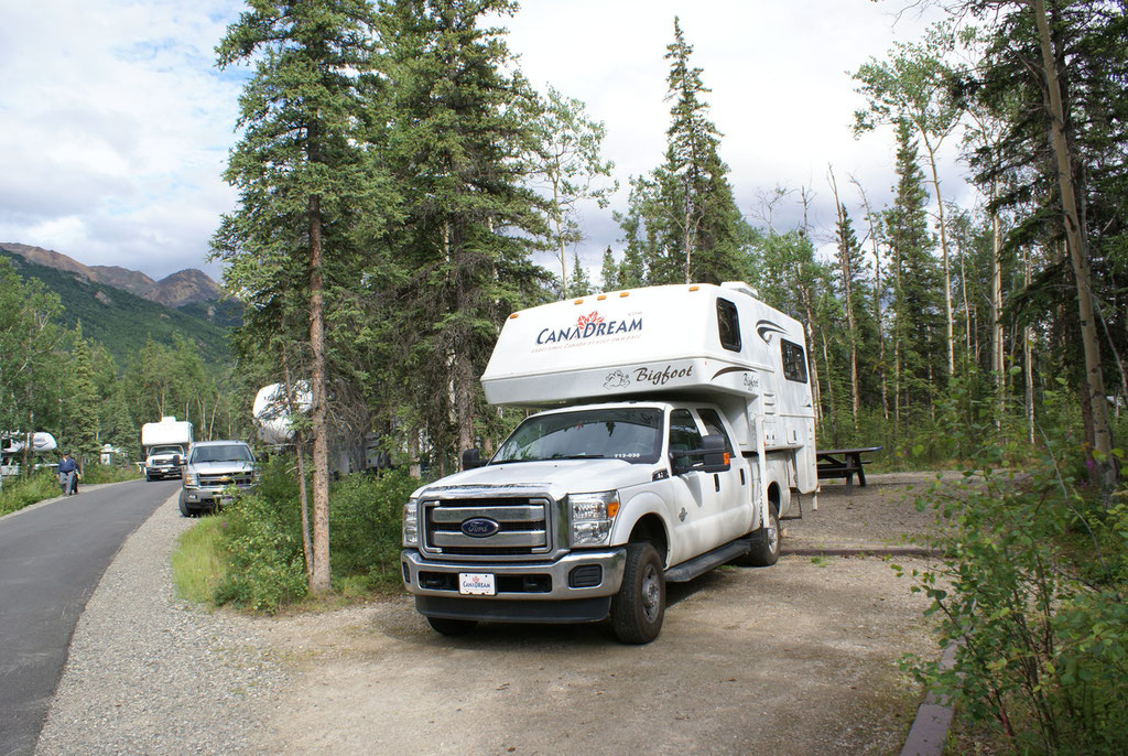 Campground Riley im Denali Nt.Park
