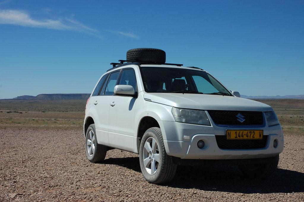 Unser Fahrzeug im Outback