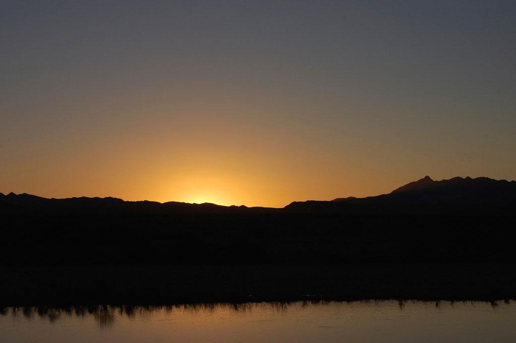 Abendstimmung am Oranje River