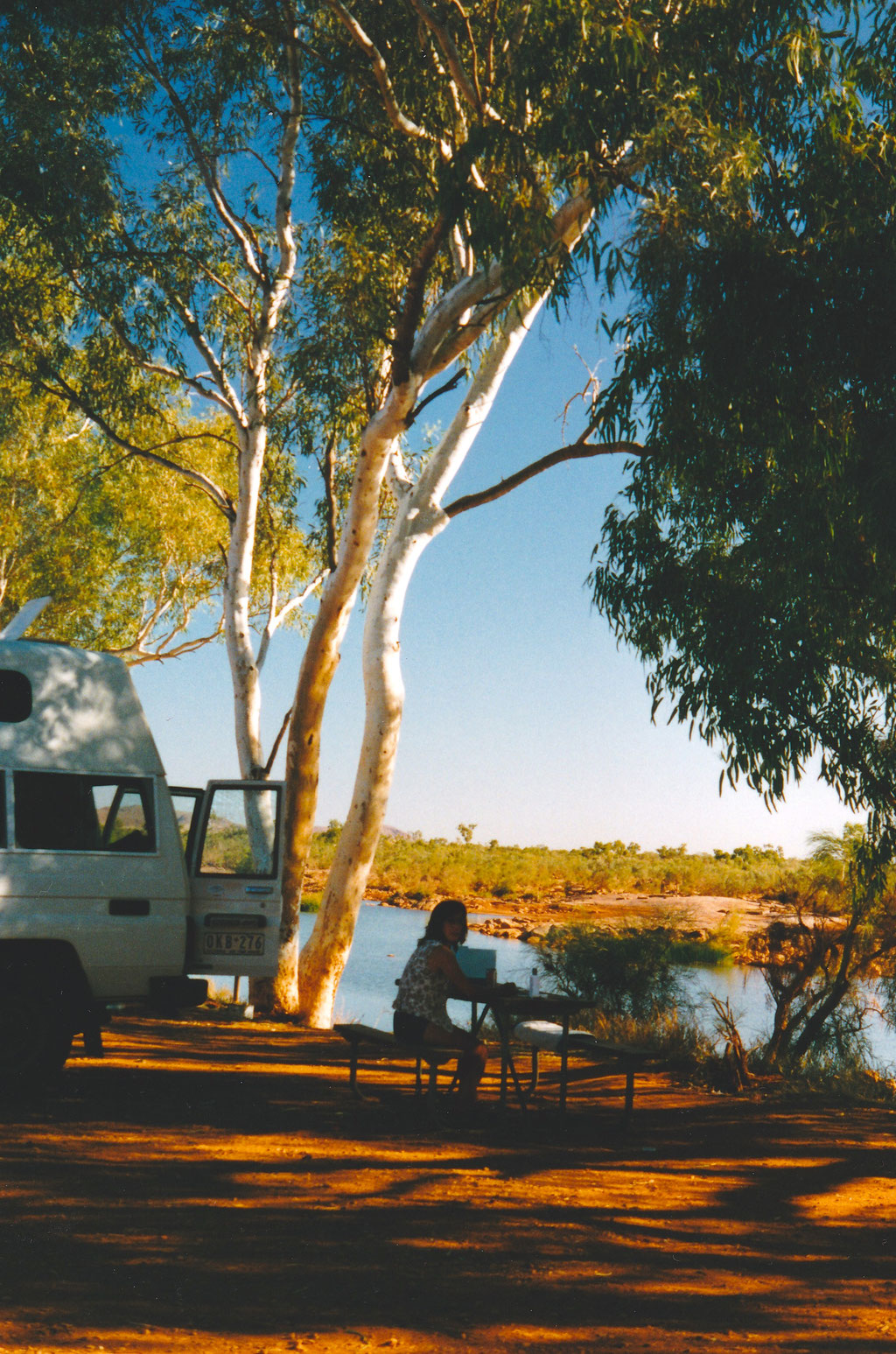 CAMPING AM FORTESCUE RIVER