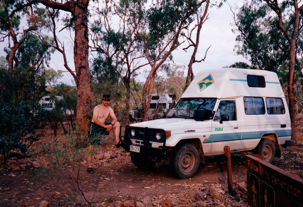 LAWN HILL NT. PARK CAMPGROUND