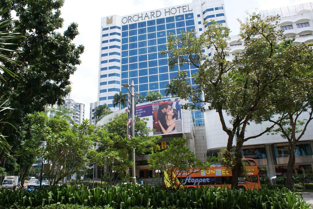 Direkt an der bekannten Orchard Road mit unbegrenzten Einkaufsmöglichkeiten.