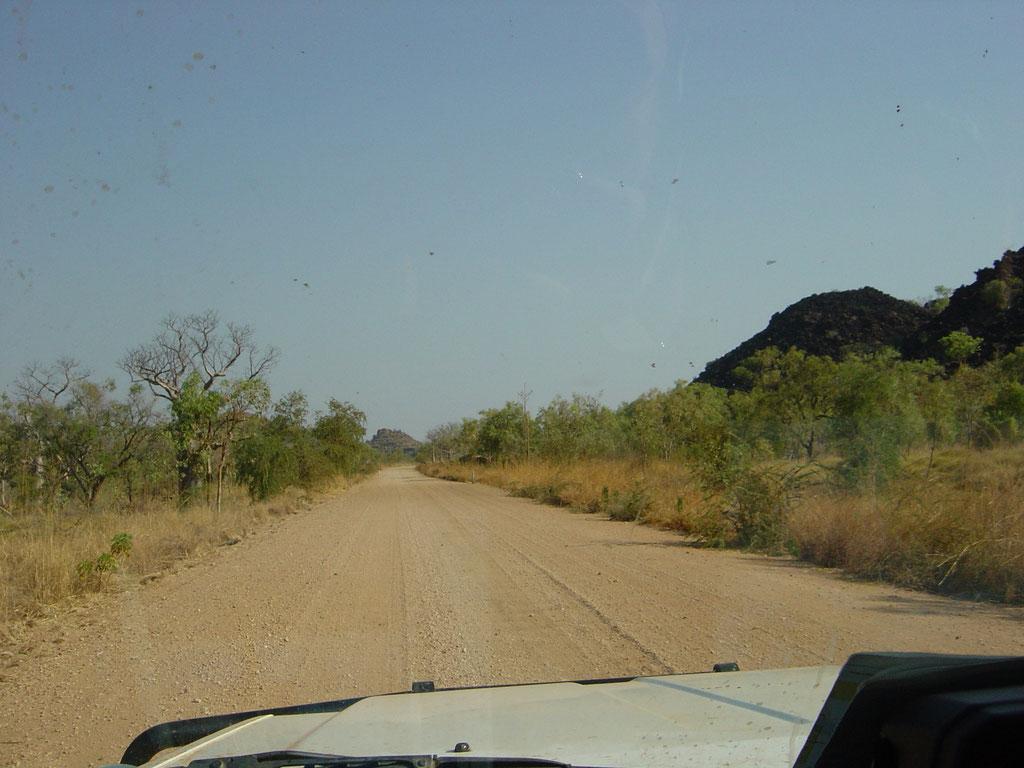 Unterwegs zur Windjana Gorges
