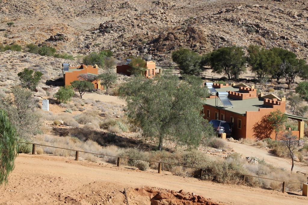 Die Unterkünfte beim Desert Horse Inn