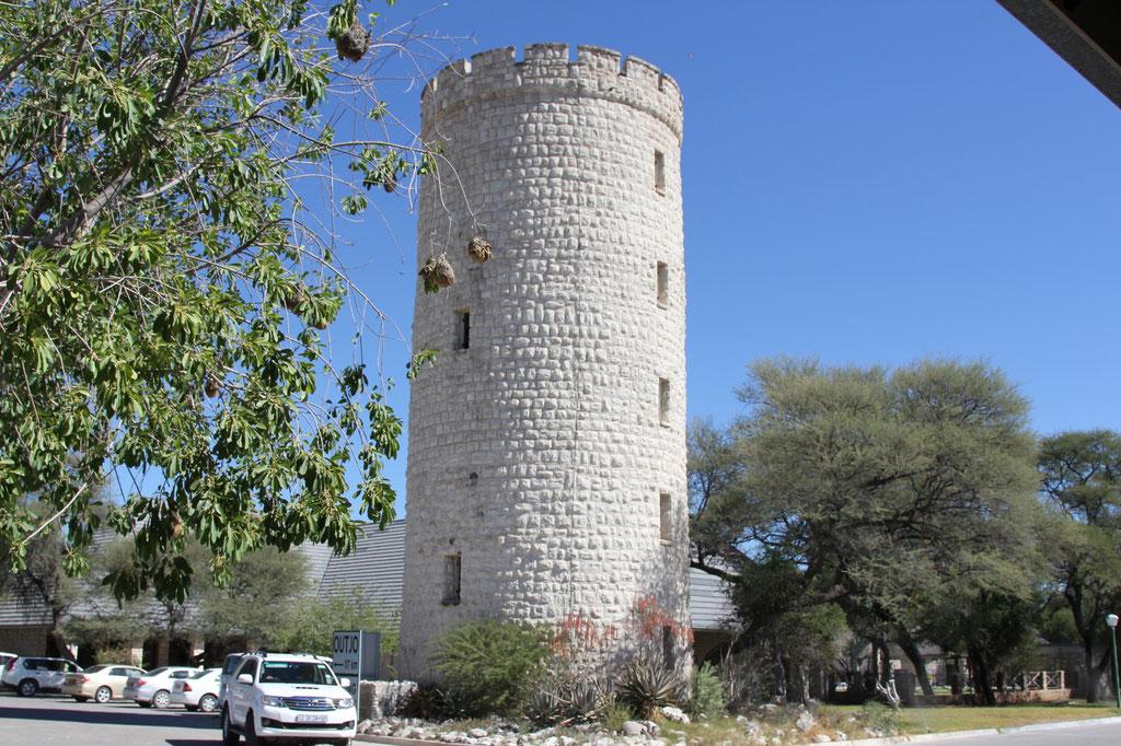 Okaukuejo Camp Wasserturm