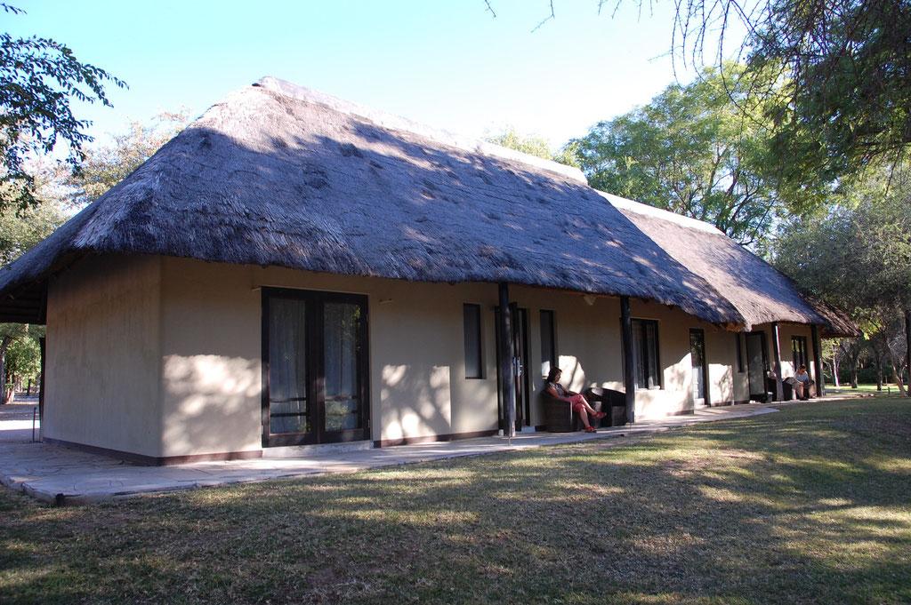 Unser Bungalow Gebäude