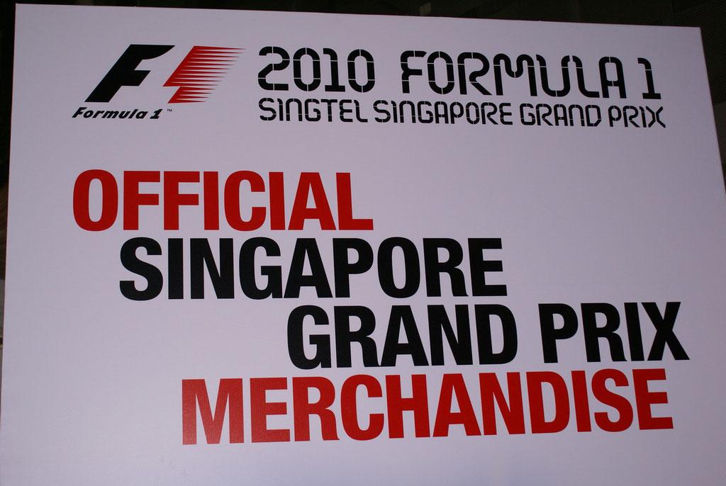 Wir haben unsere Badeferien diesmal mit einem Stop in Singapore geplant damit wir das Formel 1 Rennen besuchen können.