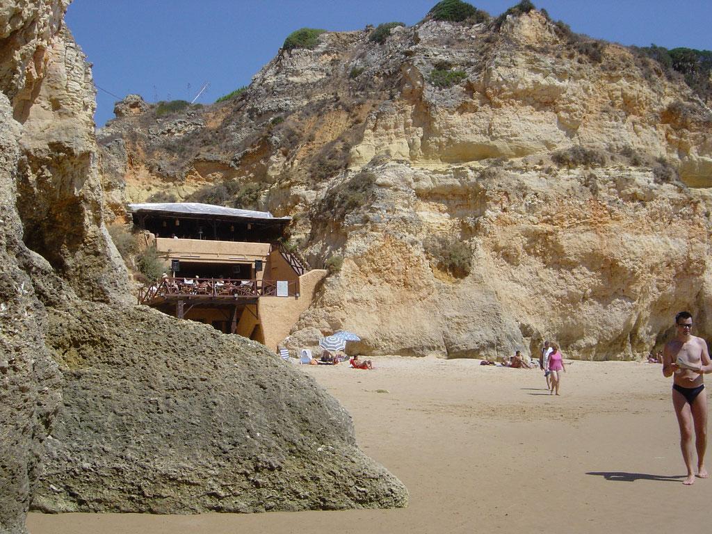 Strandbeiz bei Prainha Feriensiedlung