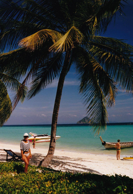UNSERE UNTERKUNFT PALM BEACH RESORT AUF PHI PHI ISLAND