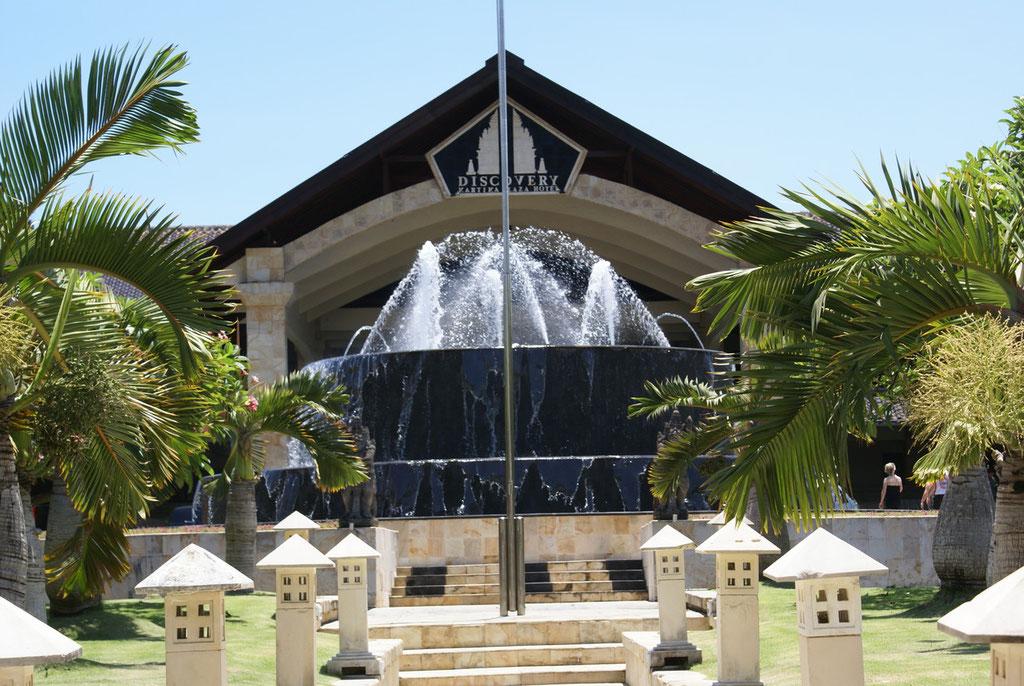 Unser Hotel Kartika Plaza in Denpasar / Kuta