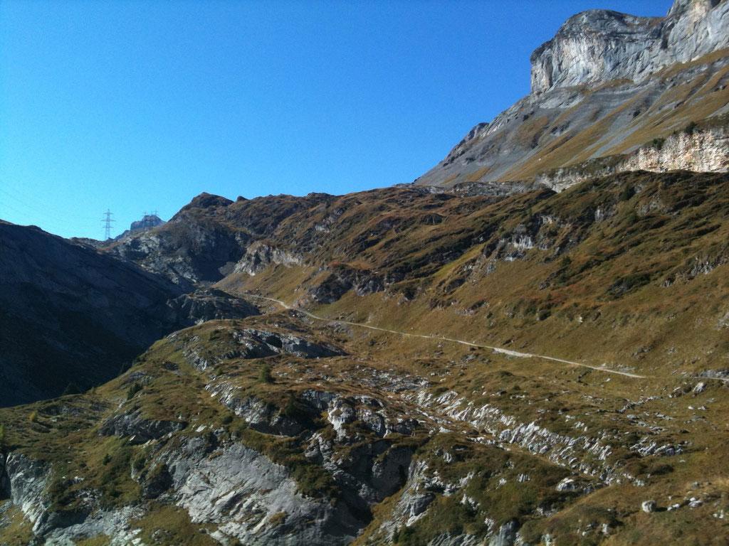 Wanderweg Gemmipass - Schwarenbach