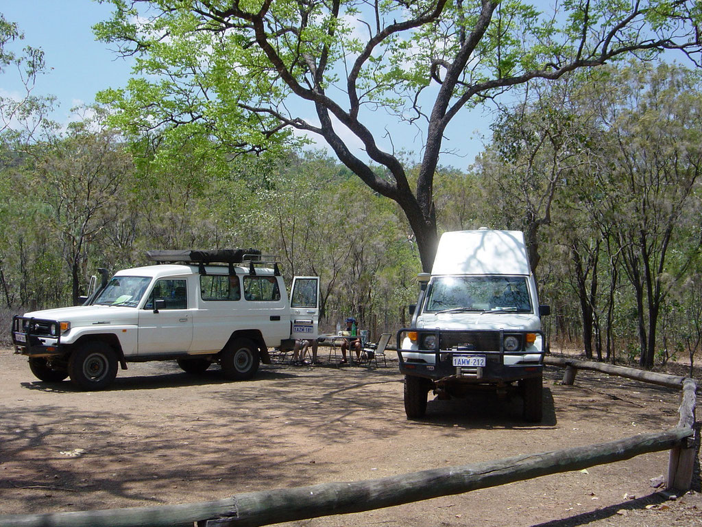 Campground Wangi Falls Litchfield Nt.Park