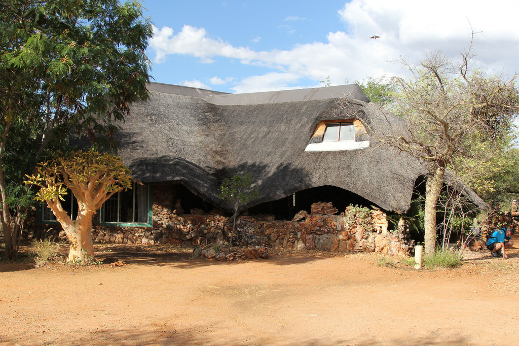 Restaurant für Lodge und Campingplatz