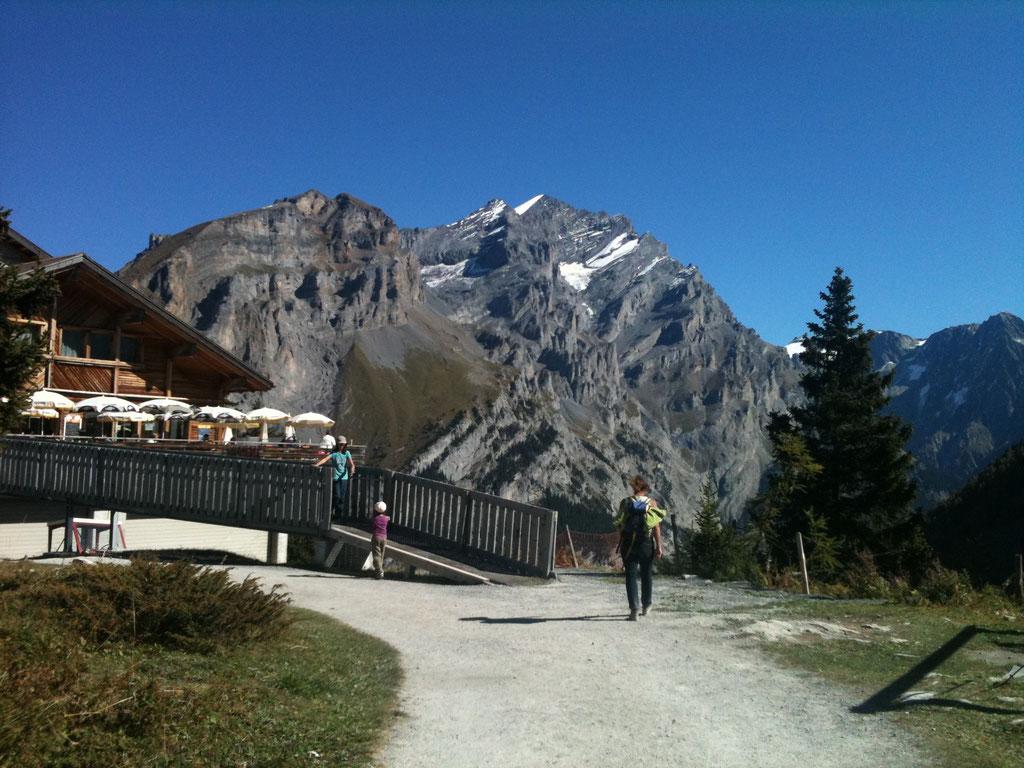 Sunnbuel Bergstation Luftseilbahn