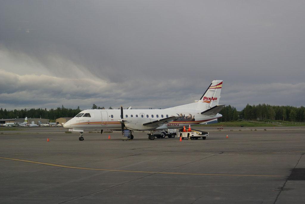 Start des 2 Tagesausflug in Anchorage
