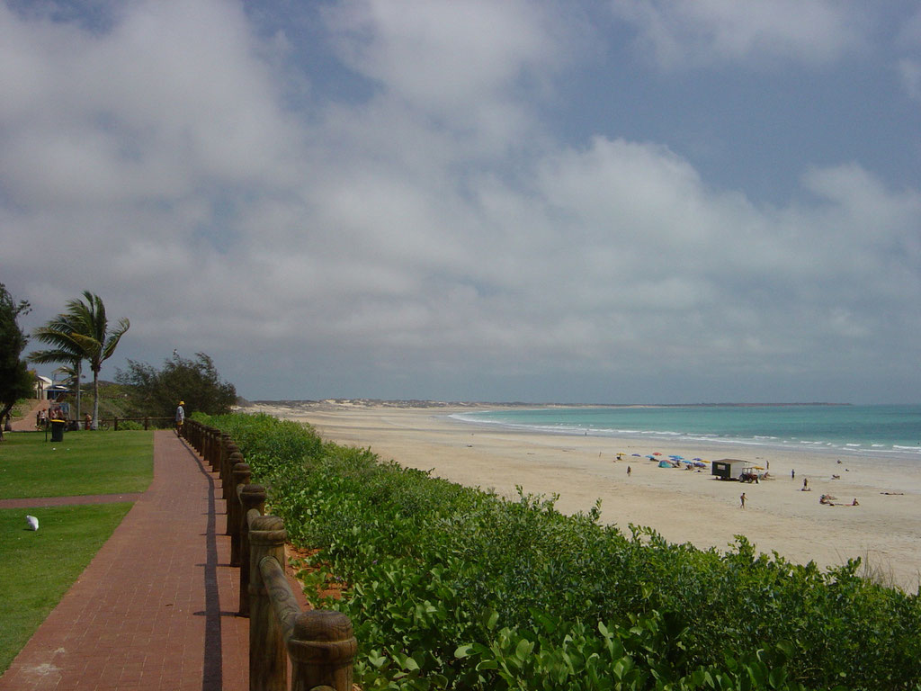 Cable Beach bei Broome am Indischen Ocean