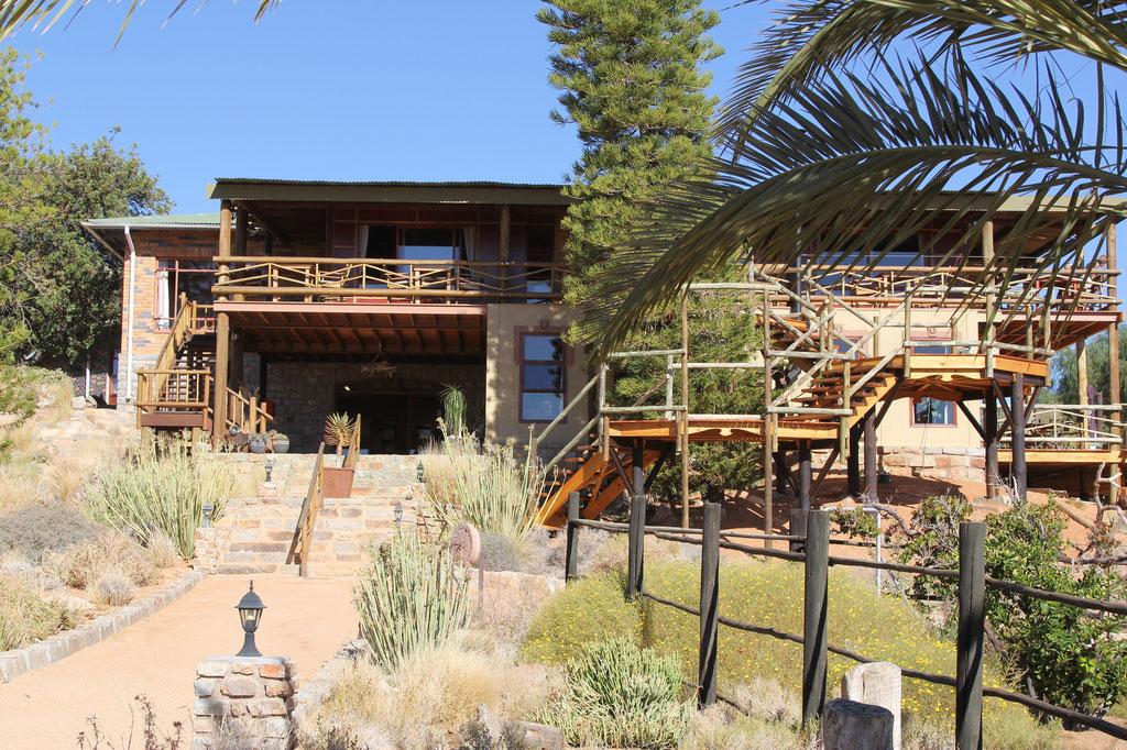 Das Desert Horse Inn, unser heutiges Tagesziel