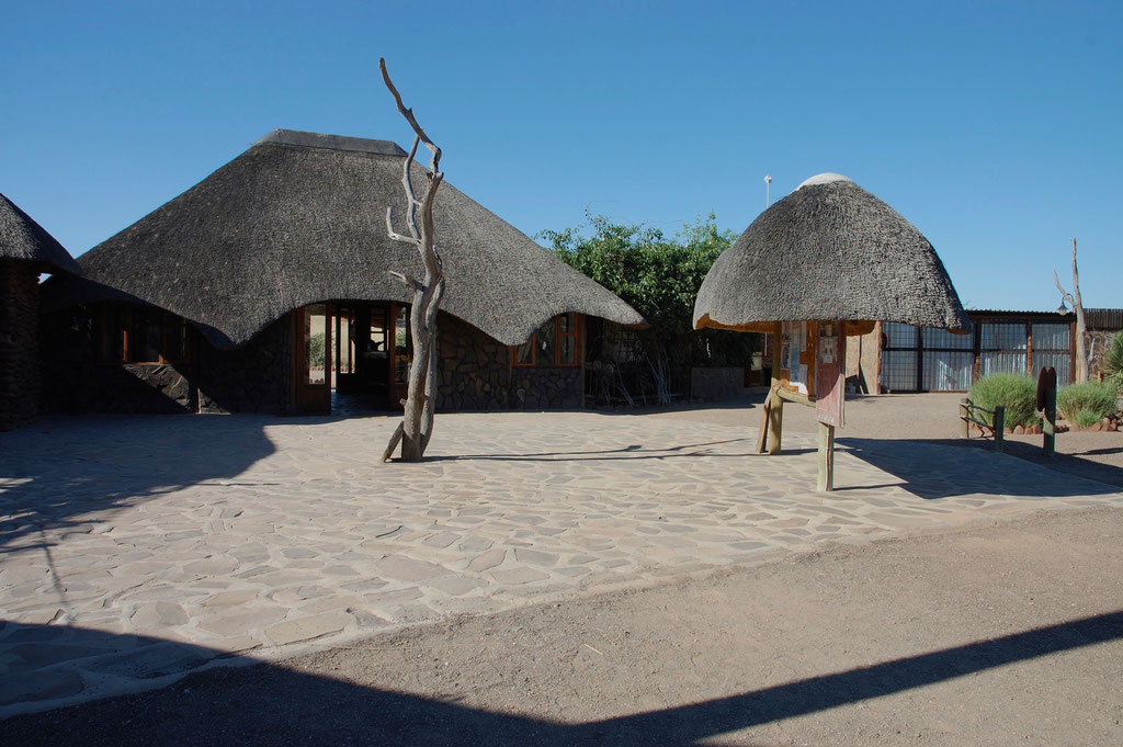 Bungalows in der Palmwag Lodge