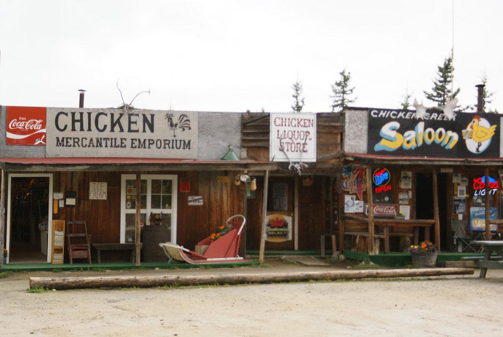 Chicken Gold Camp