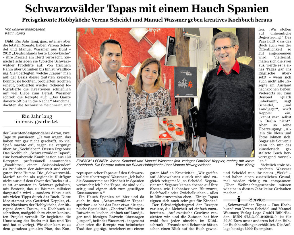 Schwarzwälder Tapas Presse