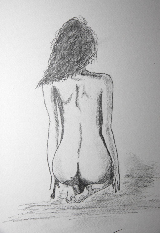 Bleistiftzeichnung 24 x 32 cm