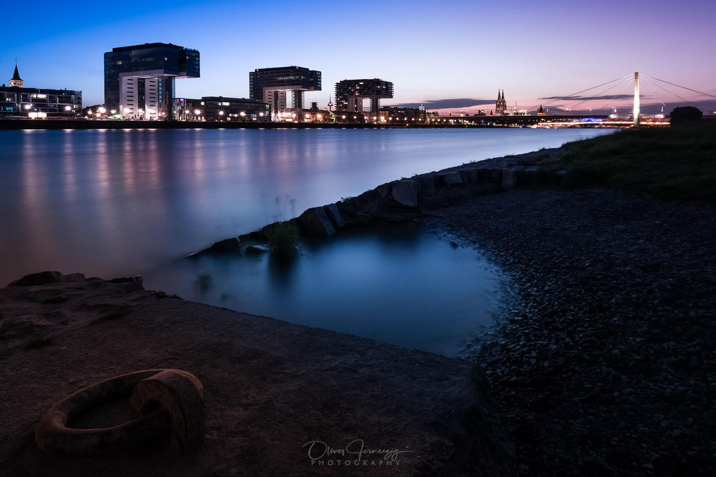Kranhäuser, Rhein, Köln, Deutschland, Allemagne, Duitsland, Germany  © Oliver Jerneizig