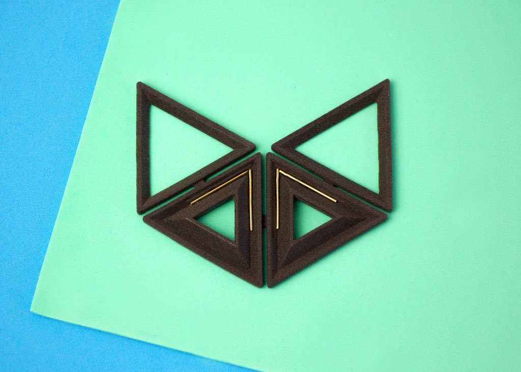 3D-Druck Nylon Kunststoff, 750er Gelbgold