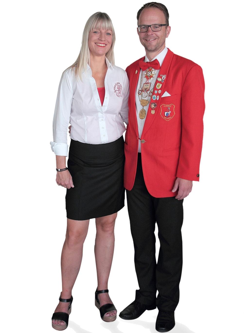 Unser rot-weisses Jubiläums-Prinzenpaar