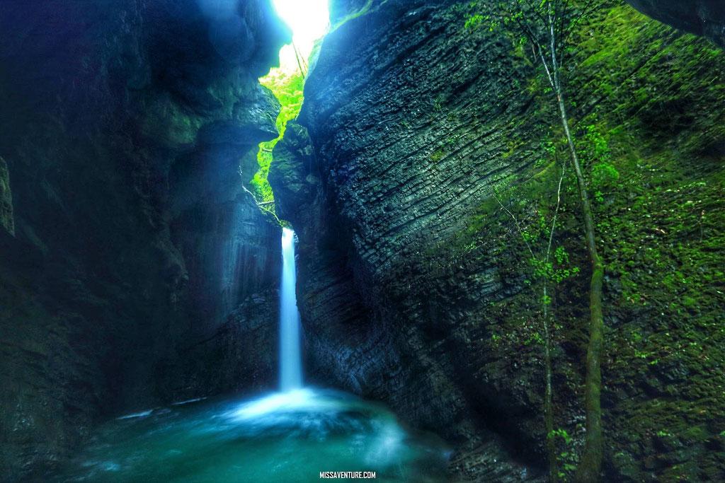 la cascade Kozjack.