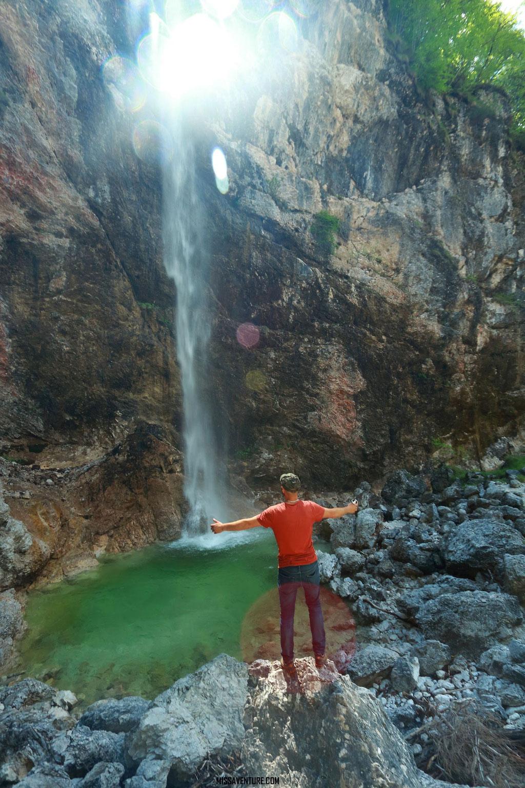 La cascade Parabole.
