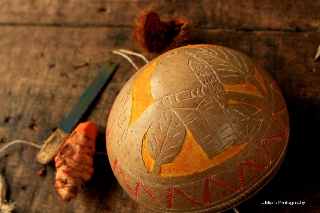 Artisanat tribu Bribri, cote caraibe